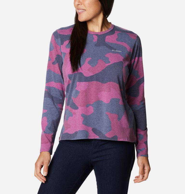Women's Sun Trek™ Pattern Long Sleeve T-Shirt Women's Sun Trek™ Pattern Long Sleeve T-Shirt, front