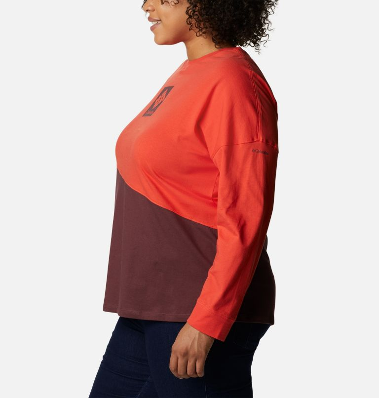 Women's Columbia Park™ Long Sleeve Tee - Plus Size Women's Columbia Park™ Long Sleeve Tee - Plus Size, a1
