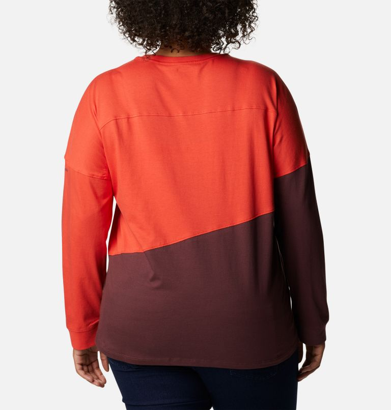 Women's Columbia Park™ Long Sleeve Tee - Plus Size Women's Columbia Park™ Long Sleeve Tee - Plus Size, back