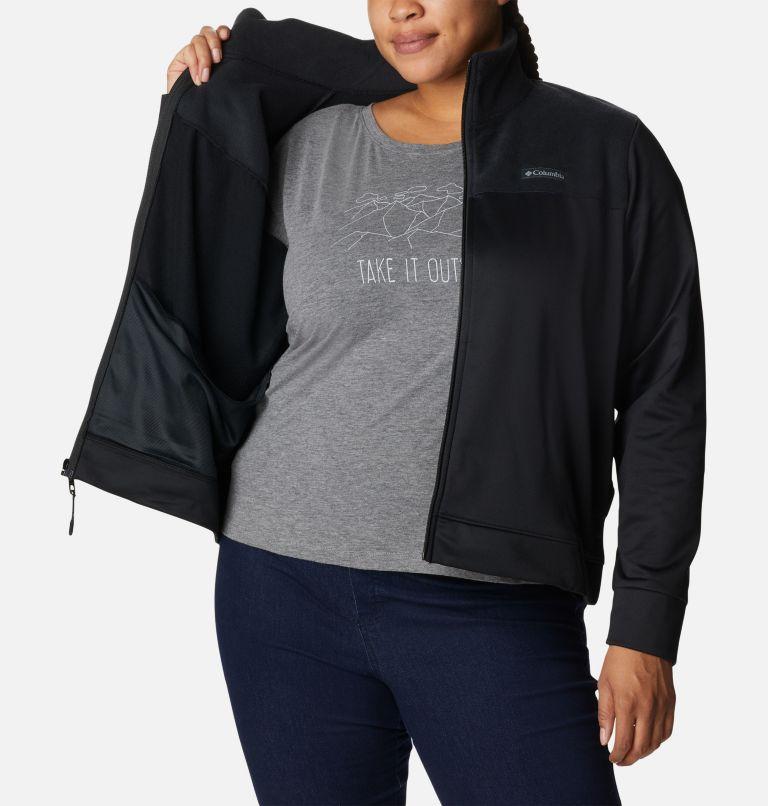 Manteau à fermeture éclair en polaire Columbia River™ pour femme - Grandes tailles Manteau à fermeture éclair en polaire Columbia River™ pour femme - Grandes tailles, a3