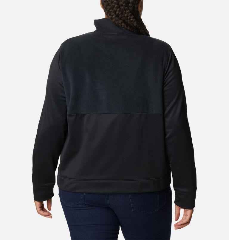 Manteau à fermeture éclair en polaire Columbia River™ pour femme - Grandes tailles Manteau à fermeture éclair en polaire Columbia River™ pour femme - Grandes tailles, back