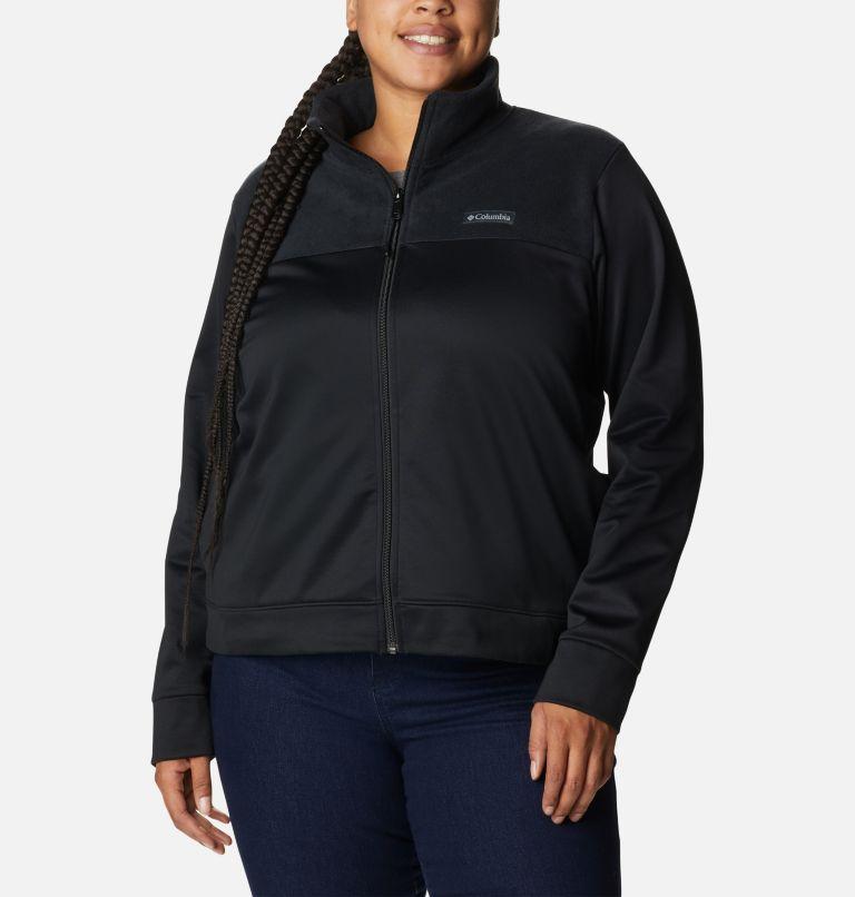 Manteau à fermeture éclair en polaire Columbia River™ pour femme - Grandes tailles Manteau à fermeture éclair en polaire Columbia River™ pour femme - Grandes tailles, front