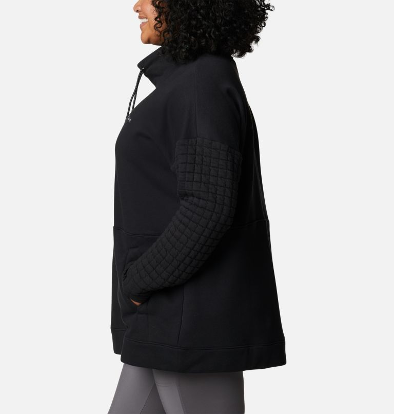 Women's Sunday Summit™ Oversized Funnel Pullover - Plus Size Women's Sunday Summit™ Oversized Funnel Pullover - Plus Size, a1