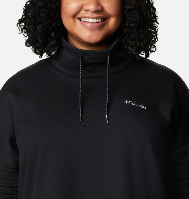 Women's Sunday Summit™ Oversized Funnel Pullover - Plus Size Women's Sunday Summit™ Oversized Funnel Pullover - Plus Size, a2