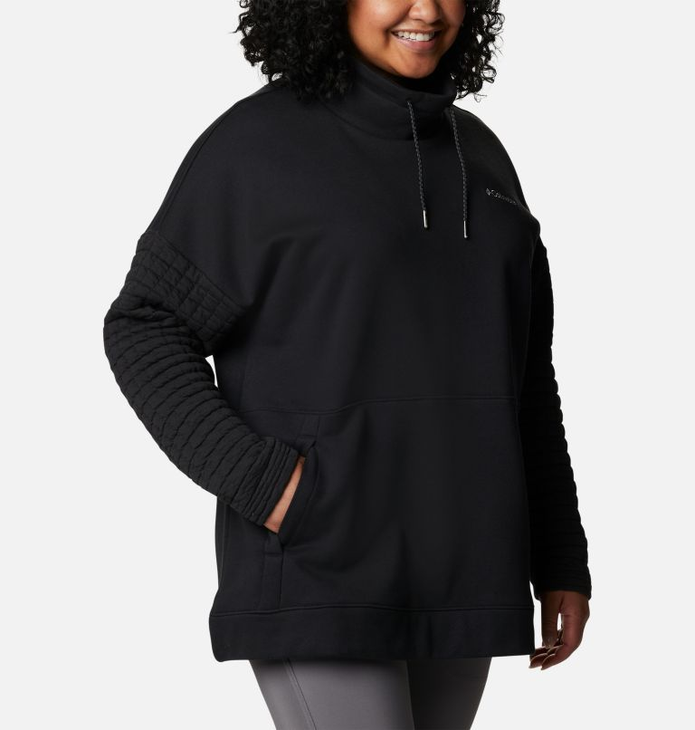 Women's Sunday Summit™ Oversized Funnel Pullover - Plus Size Women's Sunday Summit™ Oversized Funnel Pullover - Plus Size, a3