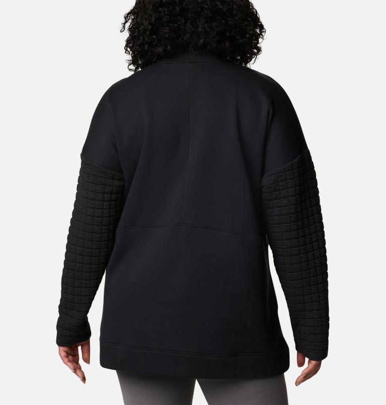 Women's Sunday Summit™ Oversized Funnel Pullover - Plus Size Women's Sunday Summit™ Oversized Funnel Pullover - Plus Size, back