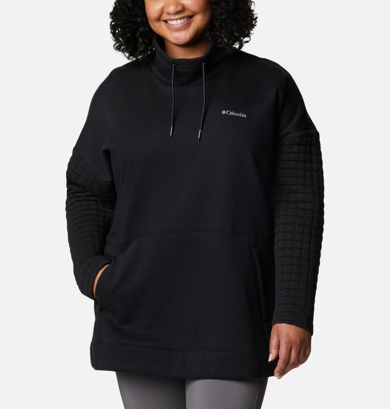 Women's Sunday Summit™ Oversized Funnel Pullover - Plus Size Women's Sunday Summit™ Oversized Funnel Pullover - Plus Size, front