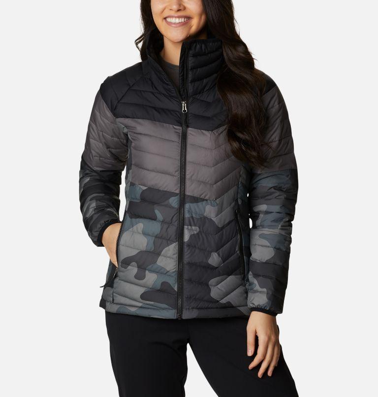 Women's Powder Lite™ Blocked Jacket Women's Powder Lite™ Blocked Jacket, front