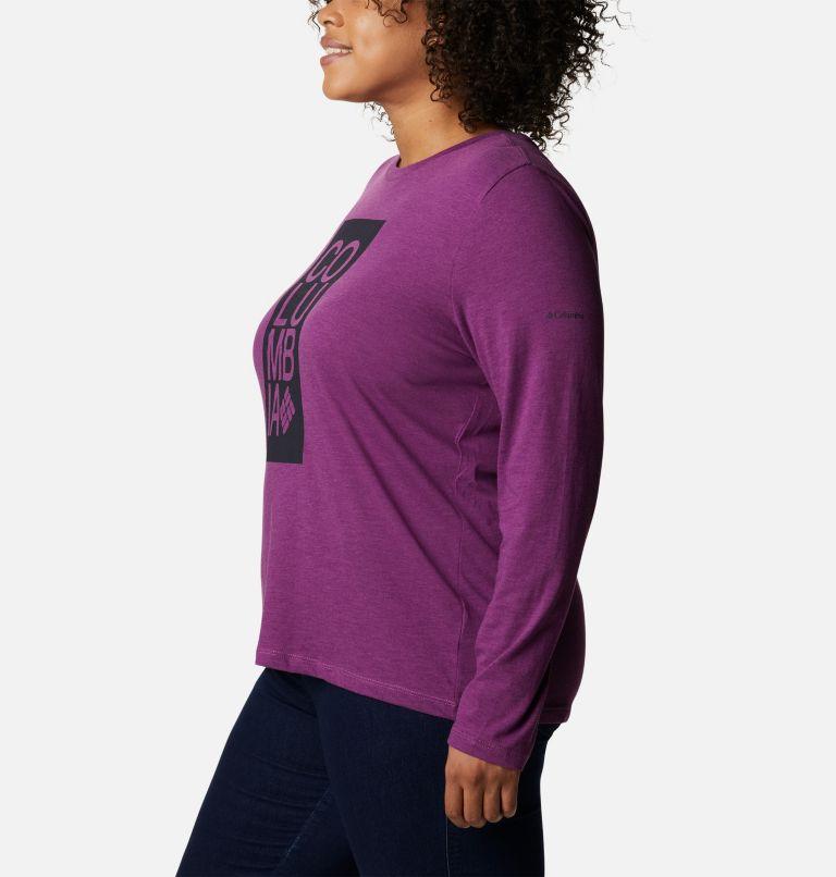 Women's Columbia Trek™ Relaxed Long Sleeve Tee - Plus Size Women's Columbia Trek™ Relaxed Long Sleeve Tee - Plus Size, a1