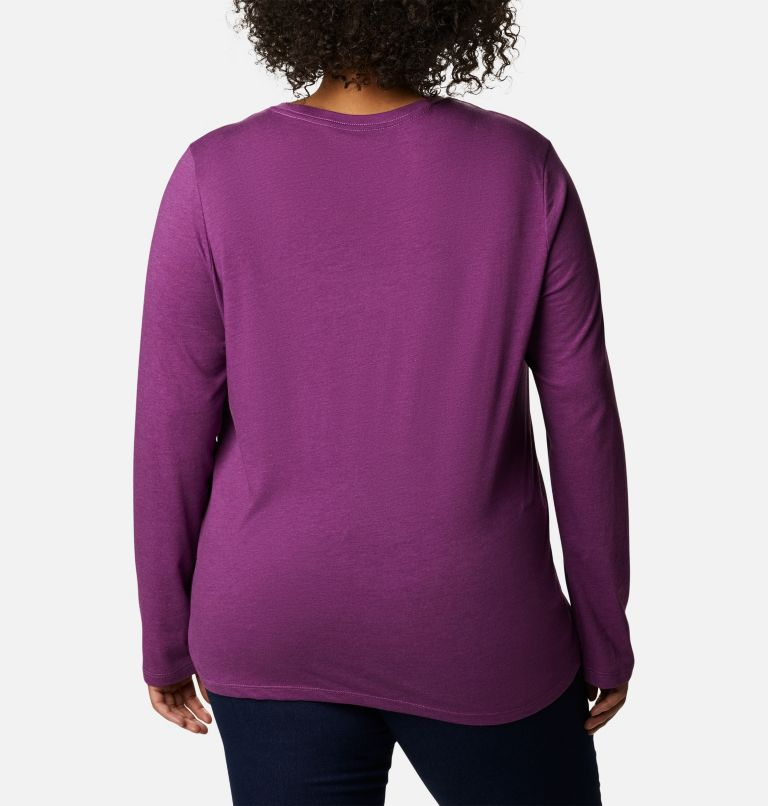 Women's Columbia Trek™ Relaxed Long Sleeve Tee - Plus Size Women's Columbia Trek™ Relaxed Long Sleeve Tee - Plus Size, back
