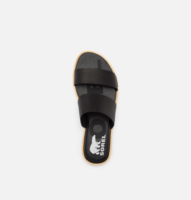 ELLA™ II SLIDE | 010 | 7 Womens Ella™ II SIide, Black, top