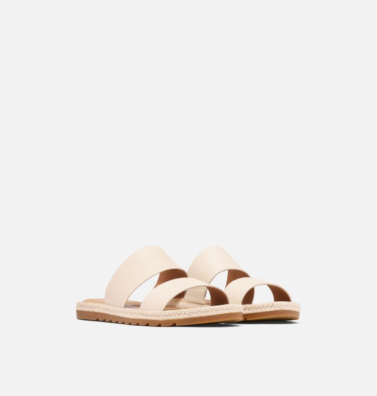 ELLA™ II SLIDE | 191 | 9.5 Womens Ella™ II Slide, Chalk, 3/4 front