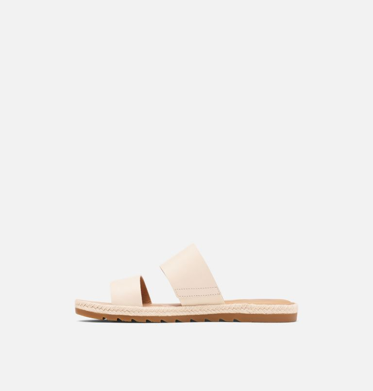 ELLA™ II SLIDE | 191 | 9.5 Womens Ella™ II Slide, Chalk, medial