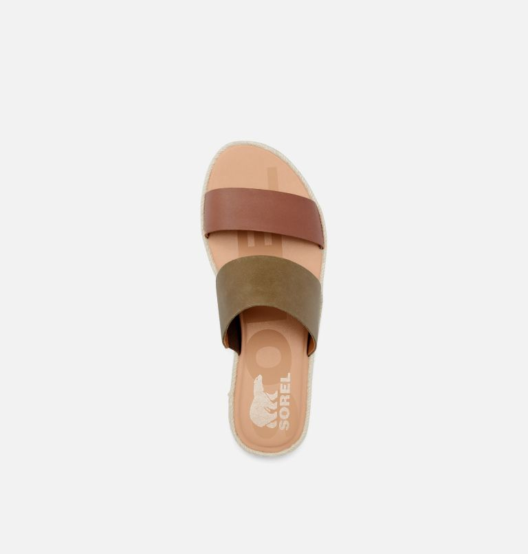 ELLA™ II SLIDE | 242 | 6.5 Womens Ella™ II SIide, Velvet Tan, top