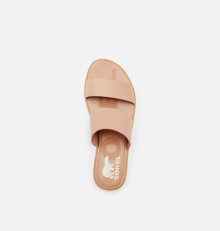 ELLA™ II SLIDE | 246 | 5.5 Womens Ella™ II Slide, Honest Beige, top