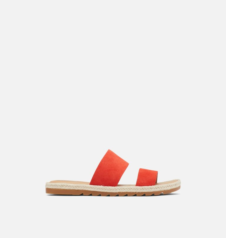 ELLA™ II SLIDE | 854 | 9 Womens Ella™ II Slide, Signal Red, front