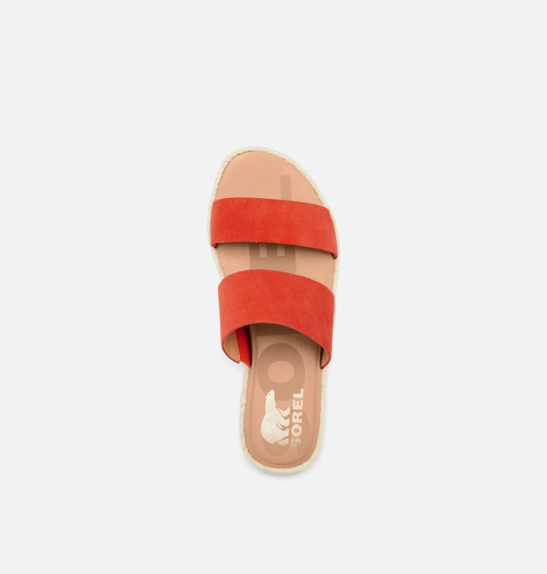 ELLA™ II SLIDE | 854 | 7 Womens Ella™ II Slide, Signal Red, top