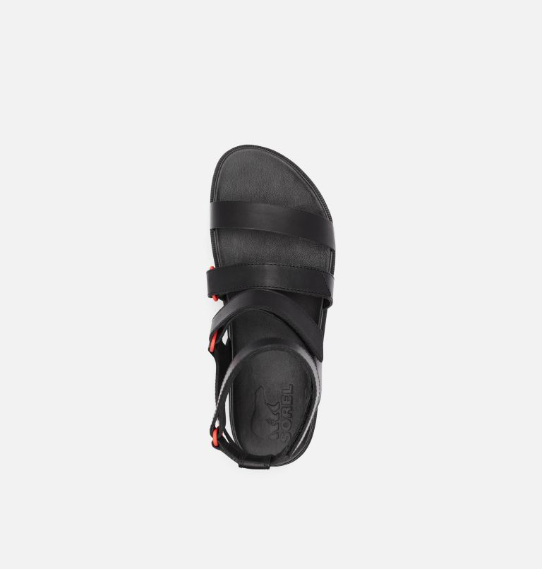 ROAMING™ MULTI STRAP | 010 | 9.5 Womens Roaming™ Multi Strap Sandal, Black, top