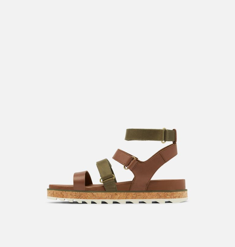 ROAMING™ MULTI STRAP | 242 | 9.5 Womens Roaming™ Multi Strap Sandal, Velvet Tan, medial