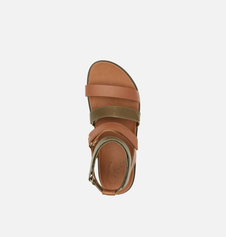 ROAMING™ MULTI STRAP | 242 | 9.5 Womens Roaming™ Multi Strap Sandal, Velvet Tan, top