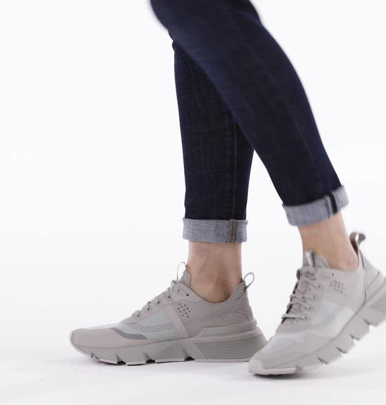 W KINETIC™ RUSH RIPSTOP | 081 | 8 Womens Kinetic™ Rush Ripstop Sneaker, Dove, video