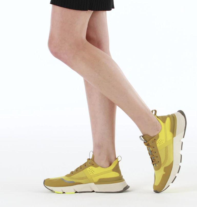 KINETIC™ RUSH RIPSTOP | 236 | 7.5 Womens Kinetic™ Rush Ripstop Sneaker, Dioxide Gold, video