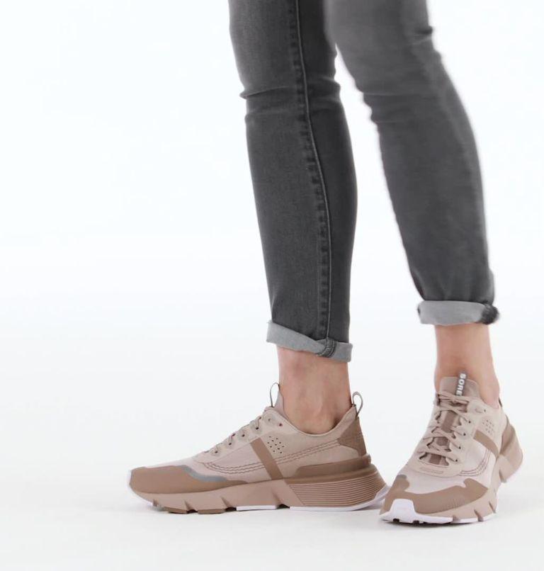 KINETIC™ RUSH RIPSTOP | 649 | 7 Womens Kinetic™ Rush Ripstop Sneaker, Mauve Vapor, video