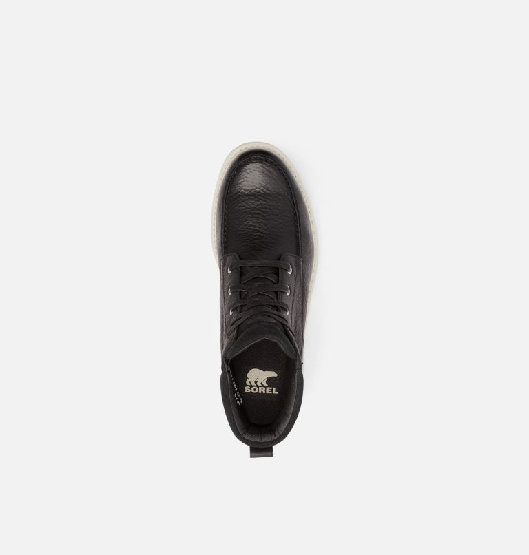 MADSON™ II MOC TOE WP | 010 | 13 Men's Madson™ II Moc Toe Boot, Black, Dark Stone, top