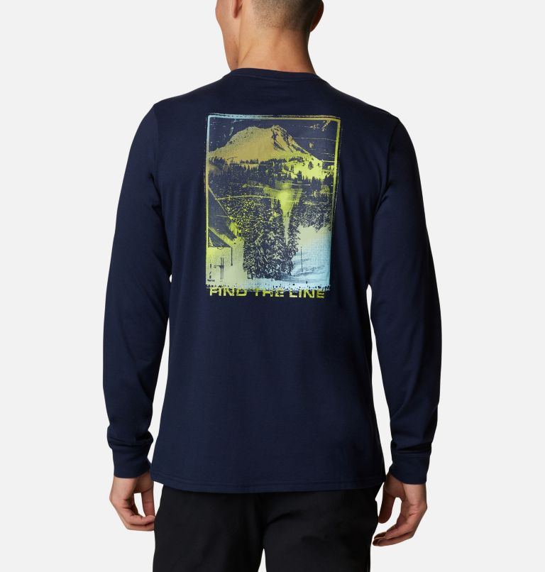 Men's Pikewood™ Organic Cotton Long Sleeve T-Shirt Men's Pikewood™ Organic Cotton Long Sleeve T-Shirt, back
