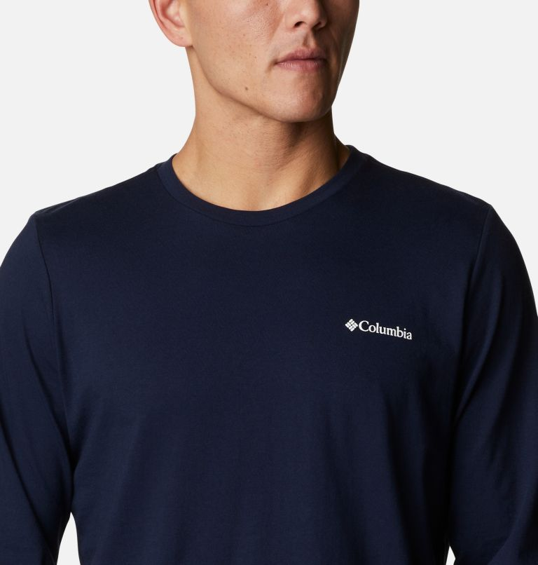 Men's Pikewood™ Organic Cotton Long Sleeve T-Shirt Men's Pikewood™ Organic Cotton Long Sleeve T-Shirt, a2