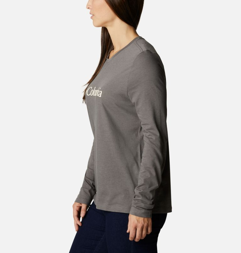 T-shirt décontracté à manches longues Columbia Lodge™ pour femme T-shirt décontracté à manches longues Columbia Lodge™ pour femme, a1