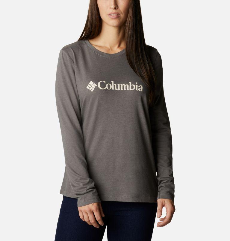 T-shirt décontracté à manches longues Columbia Lodge™ pour femme T-shirt décontracté à manches longues Columbia Lodge™ pour femme, front