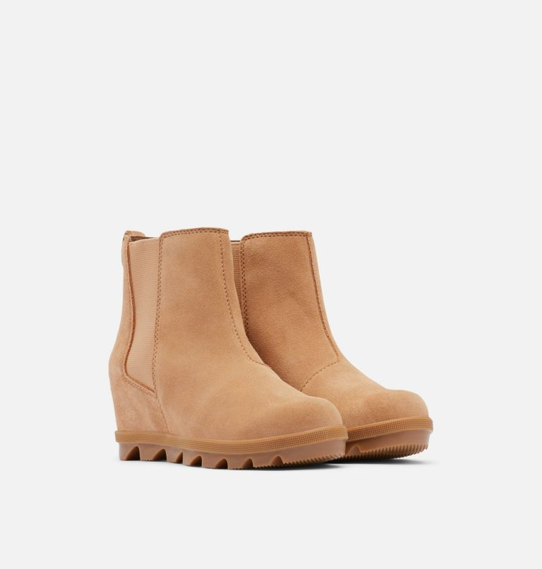 Youth Joan Of Arctic™ Wedge Chelsea Boot Youth Joan Of Arctic™ Wedge Chelsea Boot, 3/4 front