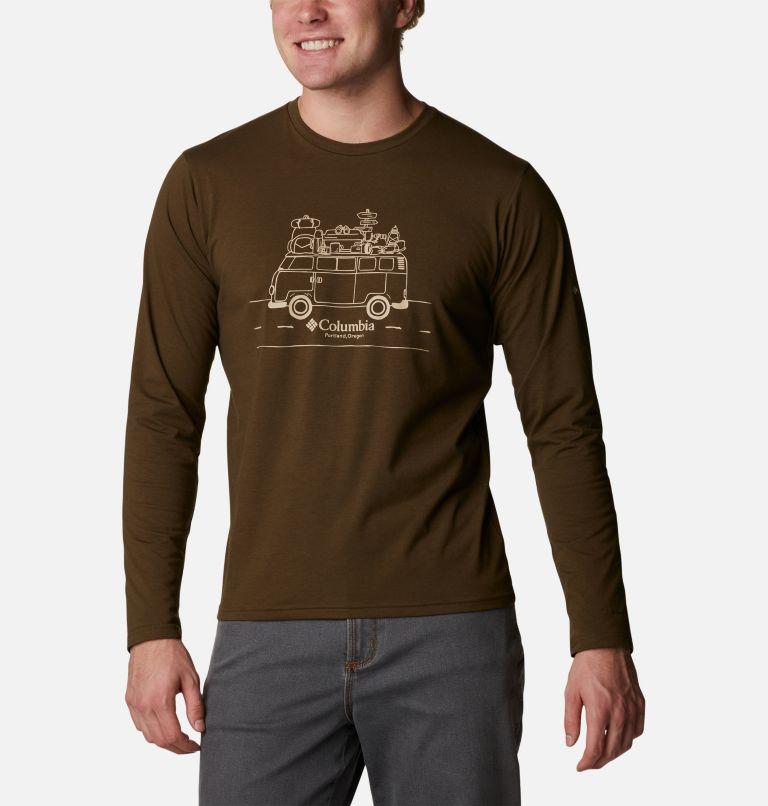 Men's Sun Trek™ Long Sleeve Graphic T-Shirt Men's Sun Trek™ Long Sleeve Graphic T-Shirt, front
