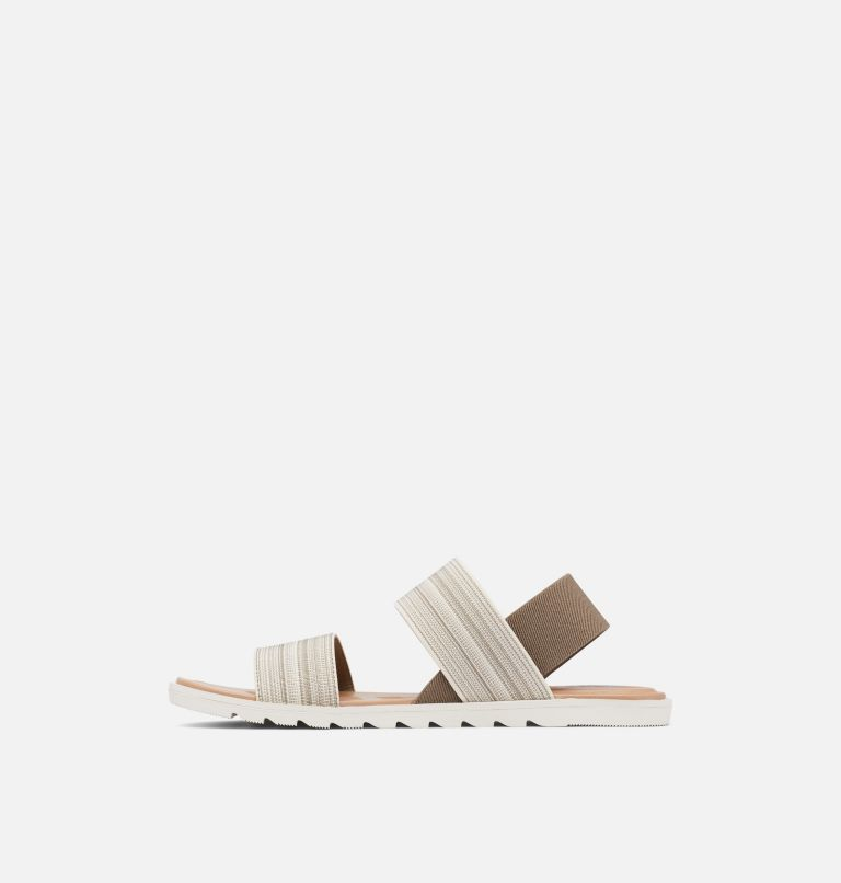 ELLA™ II TWO STRAP | 297 | 10.5 Womens Ella™ II Two Strap Sandal, Khaki II, Chalk, medial