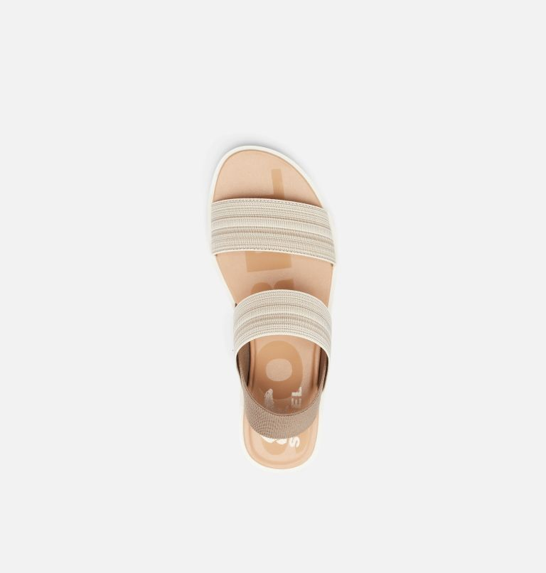 ELLA™ II TWO STRAP | 297 | 10.5 Womens Ella™ II Two Strap Sandal, Khaki II, Chalk, top