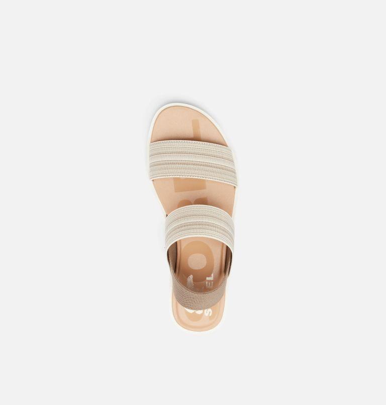 ELLA™ II TWO STRAP | 297 | 12 Womens Ella™ II Two Strap Sandal, Khaki II, Chalk, top