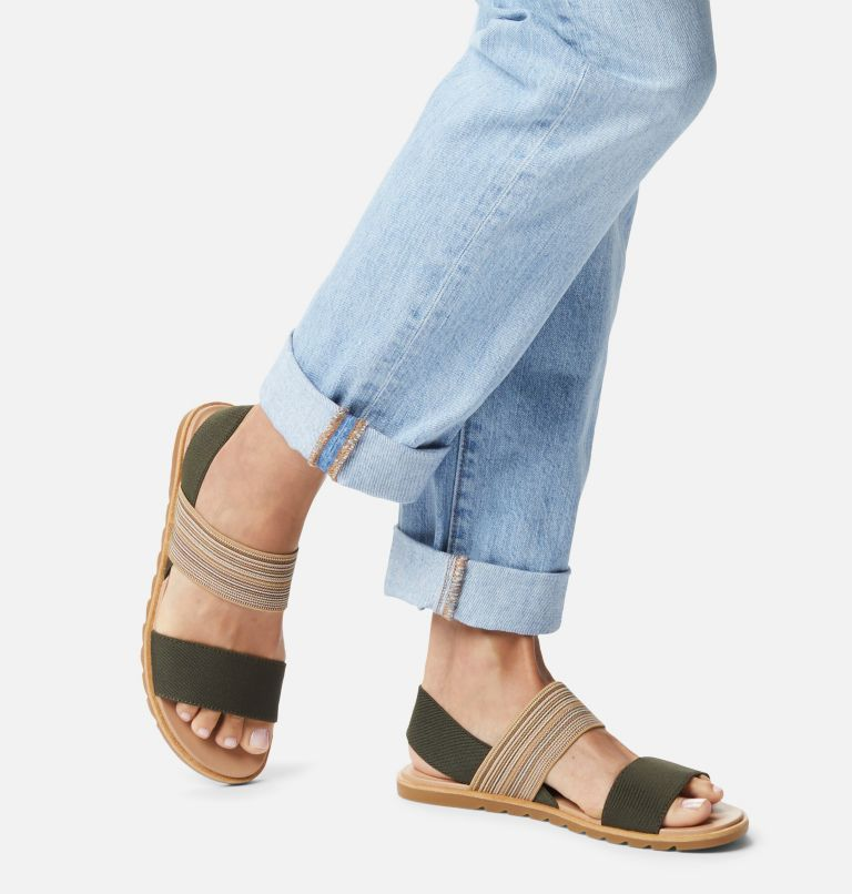 ELLA™ II TWO STRAP | 319 | 12 Womens Ella™ II Two Strap Sandal, Olive Green, Gum, a9