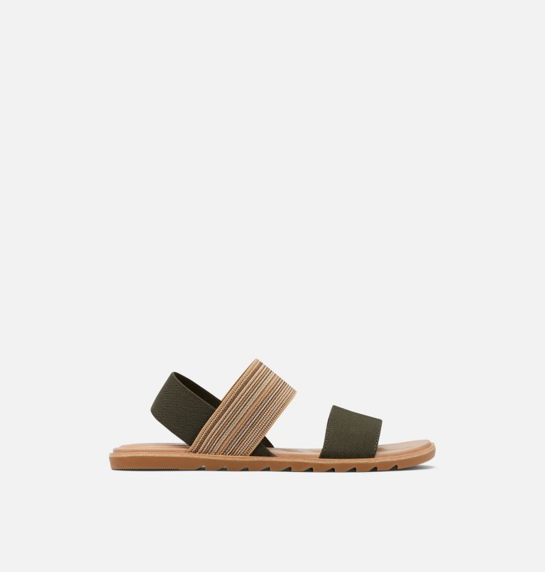 ELLA™ II TWO STRAP | 319 | 8.5 Womens Ella™ II Two Strap Sandal, Olive Green, Gum, front