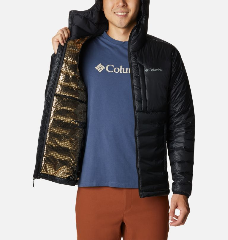 Men's Infinity Summit™ Double Wall™ Down Hooded Jacket Men's Infinity Summit™ Double Wall™ Down Hooded Jacket, a3