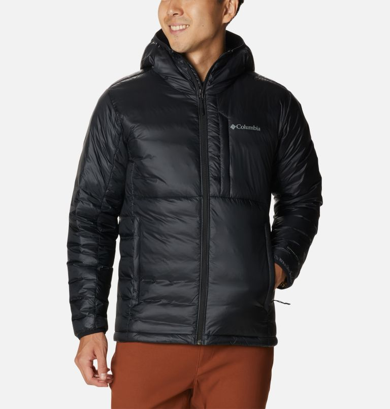 Men's Infinity Summit™ Double Wall™ Down Hooded Jacket Men's Infinity Summit™ Double Wall™ Down Hooded Jacket, front