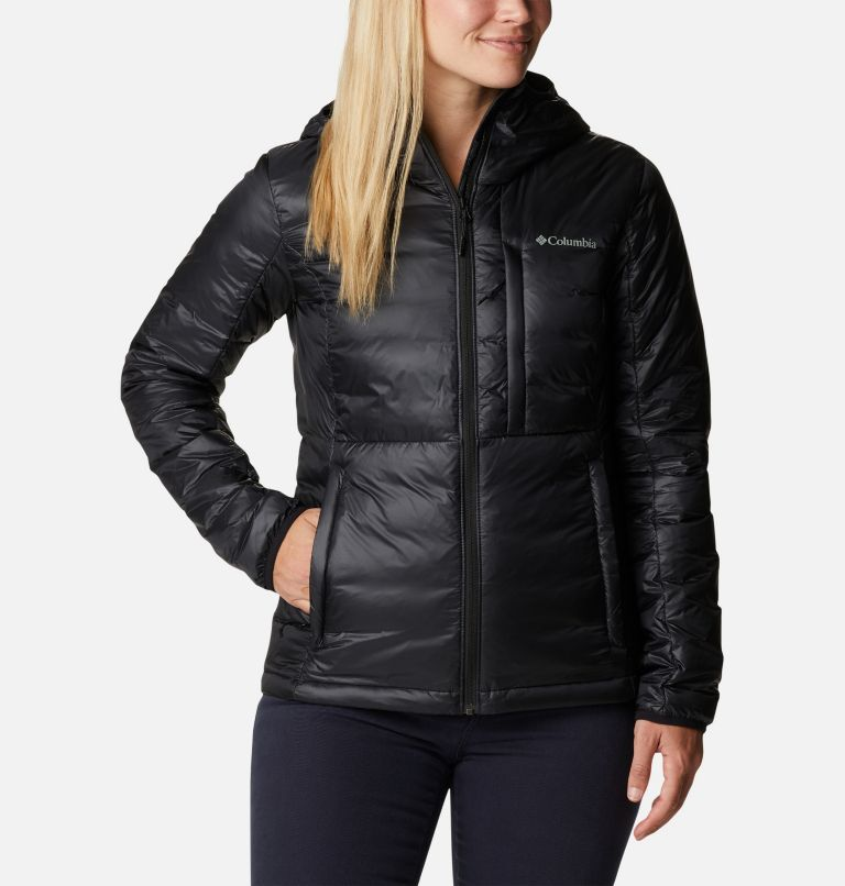 Women's Infinity Summit™ Double Wall™ Down Hooded Jacket Women's Infinity Summit™ Double Wall™ Down Hooded Jacket, front