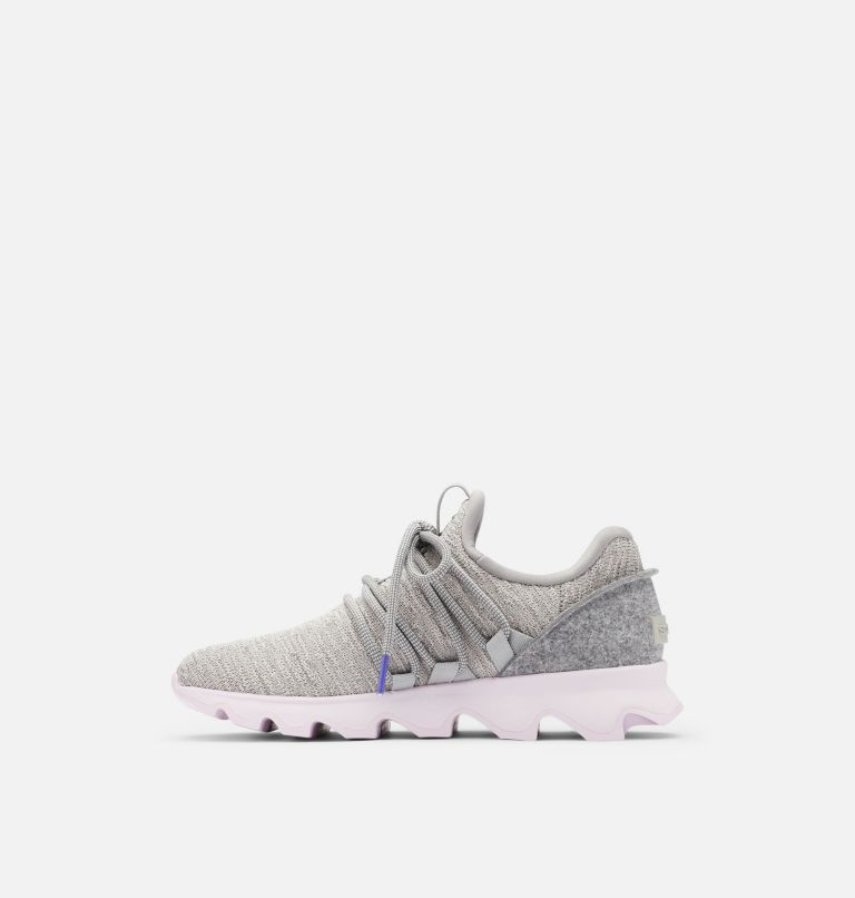 KINETIC™ LACE | 081 | 10.5 Womens Kinetic™ Lace Sneaker, Dove, medial