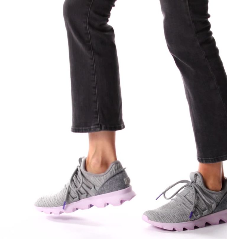 KINETIC™ LACE | 081 | 10.5 Womens Kinetic™ Lace Sneaker, Dove, video