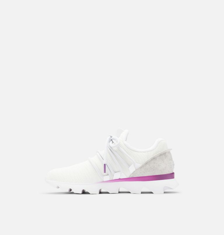KINETIC™ LACE | 100 | 6 Womens Kinetic™ Lace Sneaker, White, medial