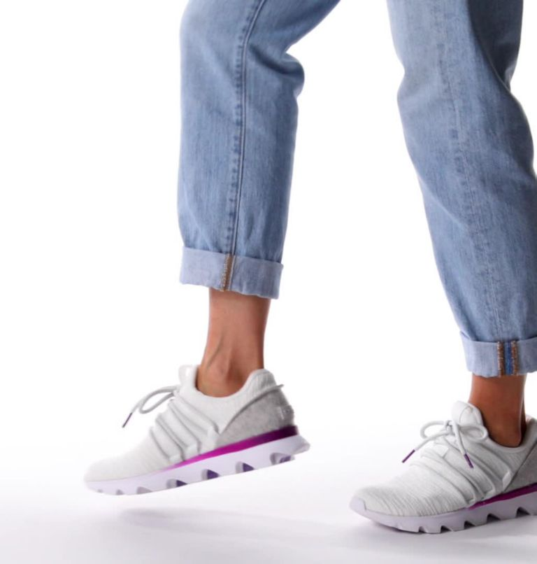 KINETIC™ LACE | 100 | 6 Womens Kinetic™ Lace Sneaker, White, video