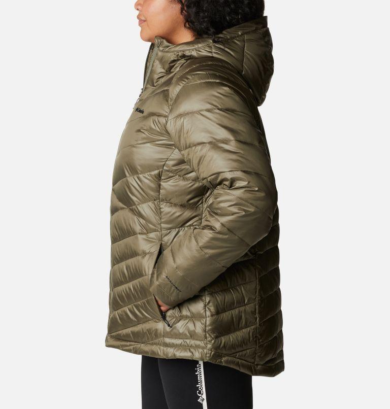 Women's Joy Peak™ Omni-Heat™ Infinity Insulated Hooded Jacket - Plus Size Women's Joy Peak™ Omni-Heat™ Infinity Insulated Hooded Jacket - Plus Size, a1