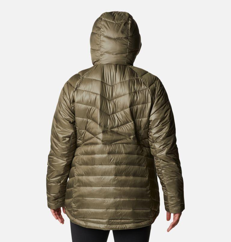 Women's Joy Peak™ Omni-Heat™ Infinity Insulated Hooded Jacket - Plus Size Women's Joy Peak™ Omni-Heat™ Infinity Insulated Hooded Jacket - Plus Size, back