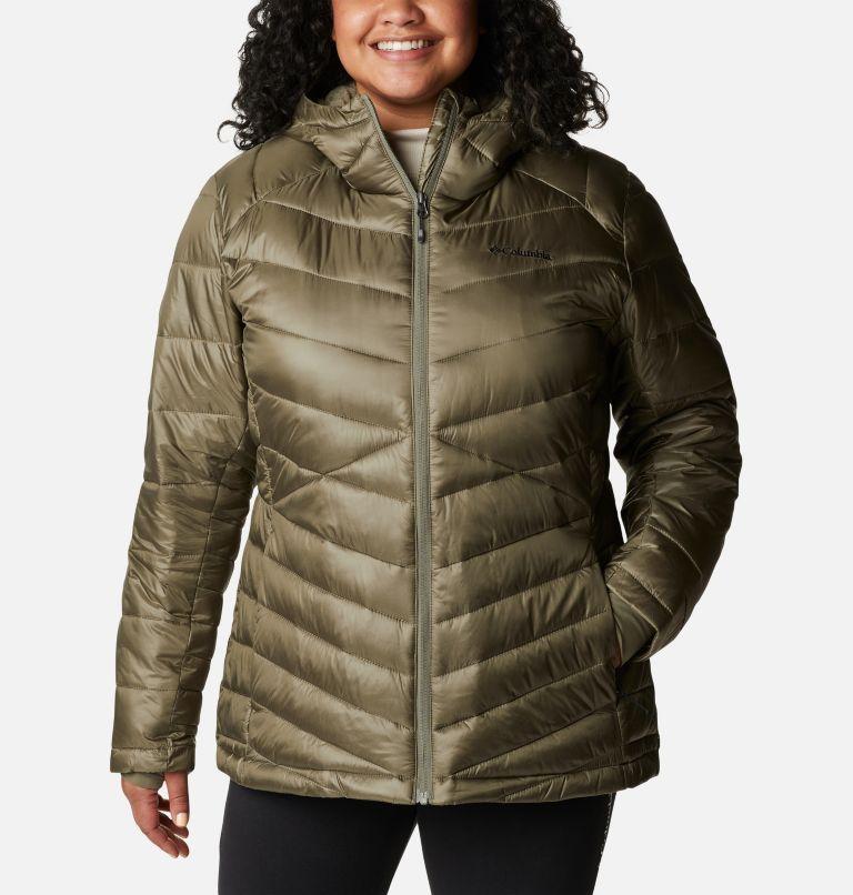 Women's Joy Peak™ Omni-Heat™ Infinity Insulated Hooded Jacket - Plus Size Women's Joy Peak™ Omni-Heat™ Infinity Insulated Hooded Jacket - Plus Size, front