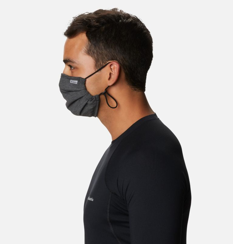 Tech Trail™ Face Mask | 010 | O/S Tech Trail™ Face Mask, Black Heather, a4